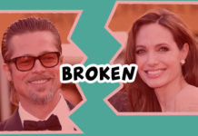 Angeline Jolie files for divorce.