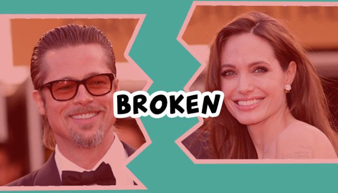 Angeline Jolie files for divorce.