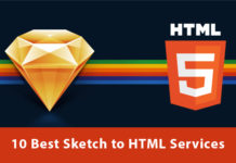 best sketch to html services