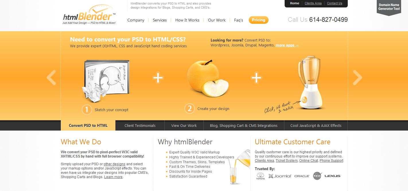 html-blender