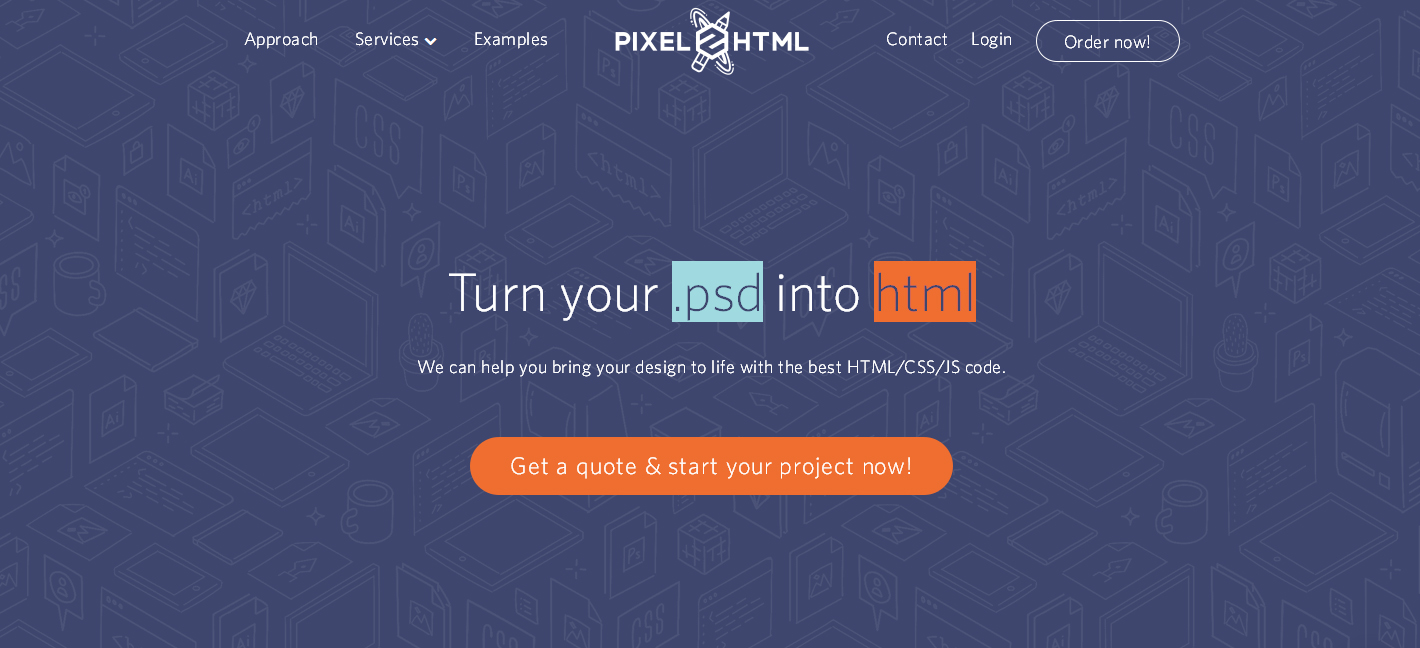 pixel-to-html