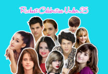 richest celebrities under 25