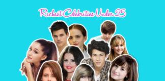 richest celebrities under 25