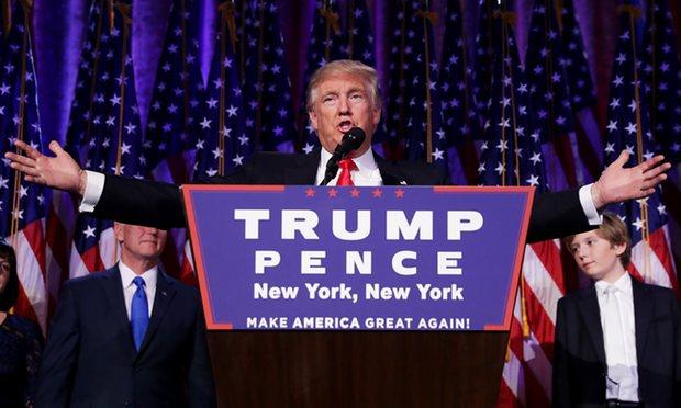 Donald Trump won US presidency