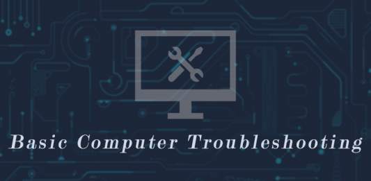 Some Basic Computer Troubleshooting