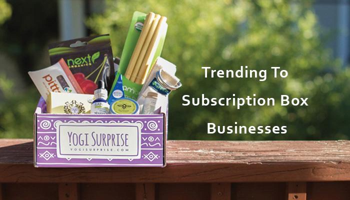 subscription box businesses