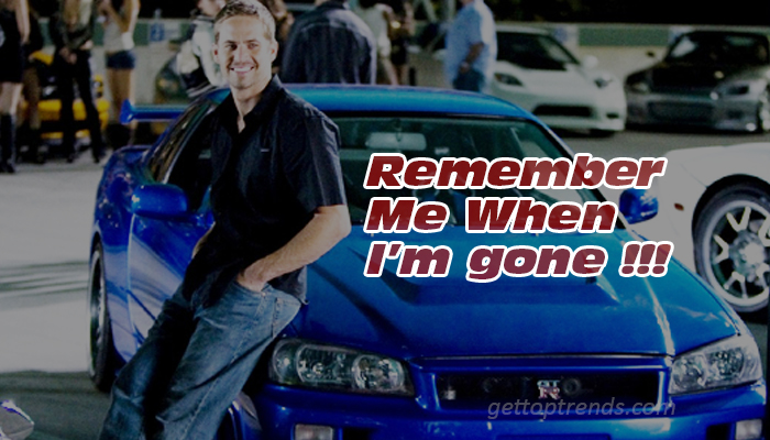 Porsche Revealed the Reality behind Paul Walker's Death