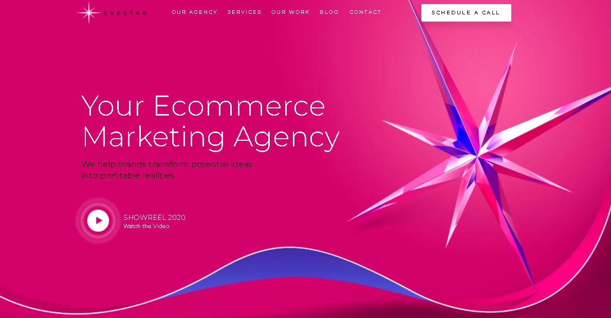 Evestar - Drupal Web Design Firms