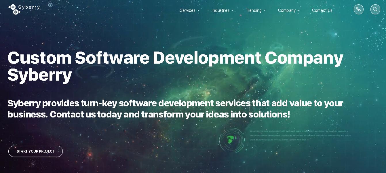Syberry - Laravel Development Companies