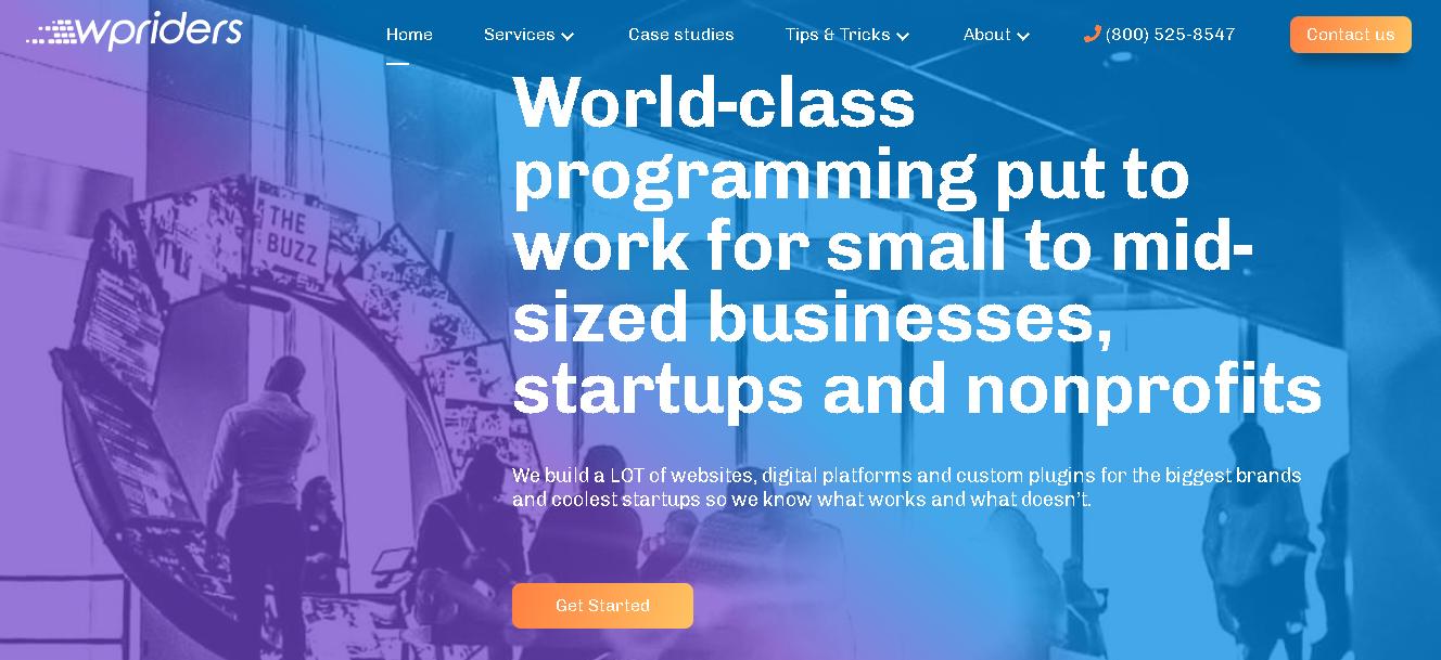 Wpriders - web design and development services
