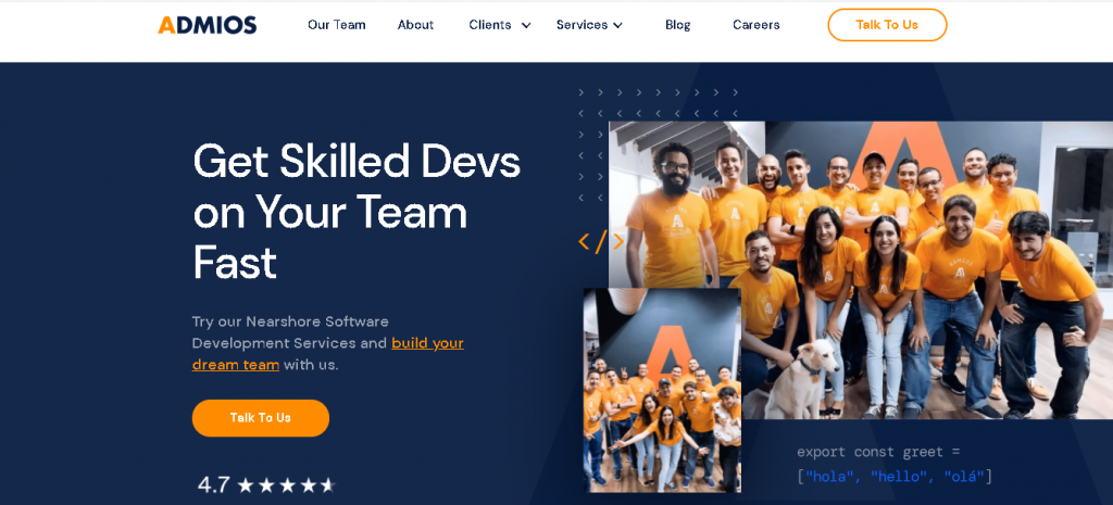 admios - WordPress development agencies