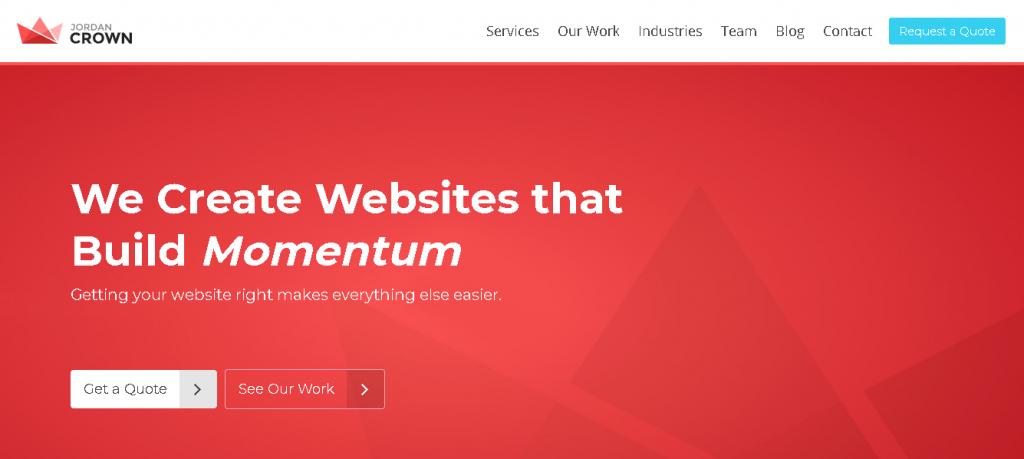 jordan crown - WordPress development agencies