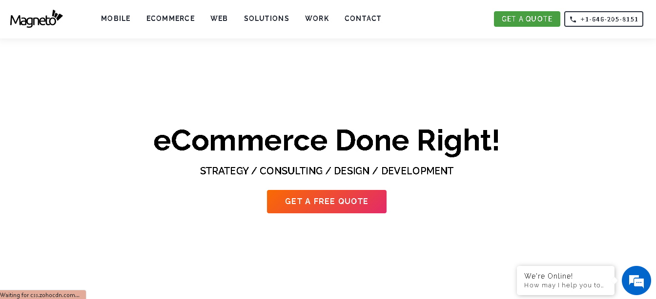 magneto it solutions - Prestashop ecommerce Development Companies
