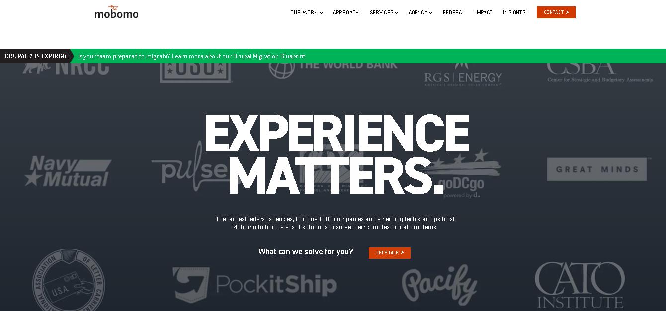 mobomo - Drupal Web Design Firms