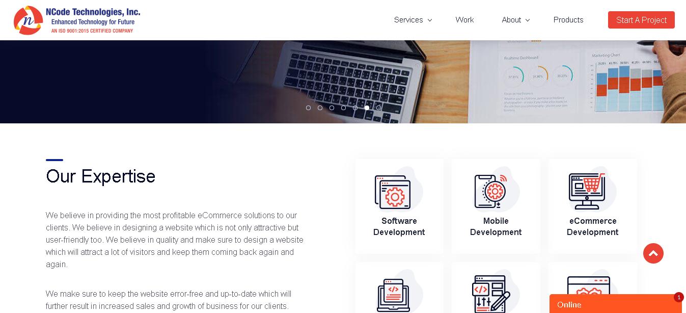 ncode technologies - Prestashop ecommerce Development Companies