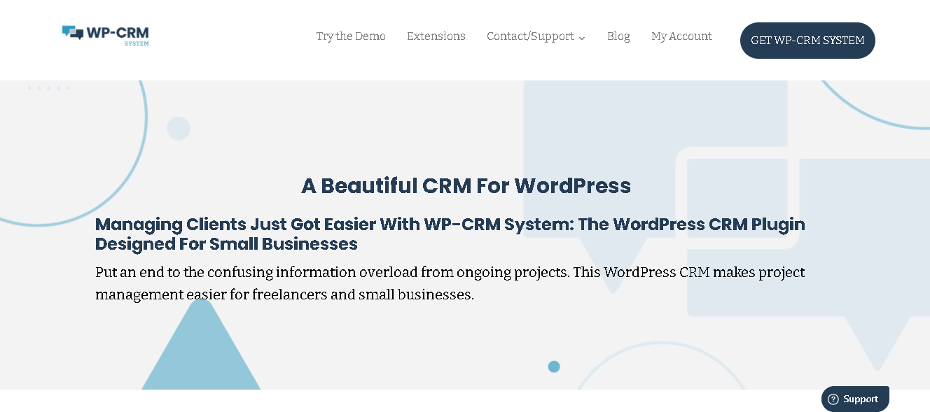 wp-crm system - top woocommerce crm