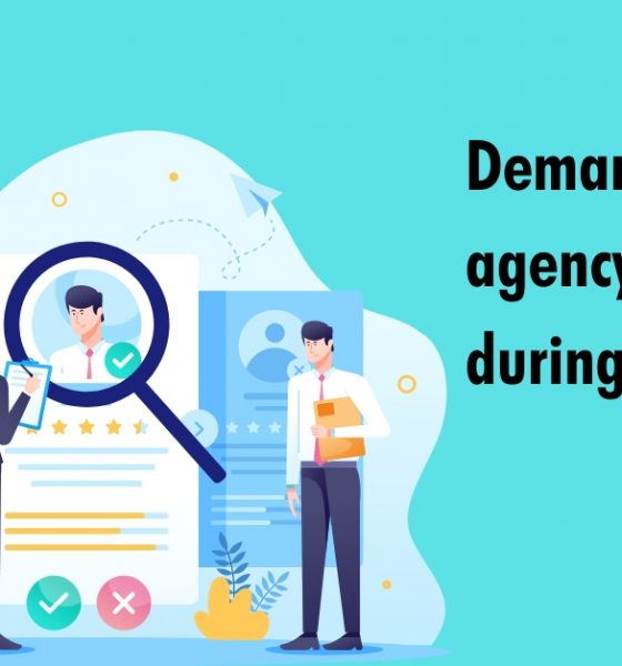 Demand for agency services during covid-19