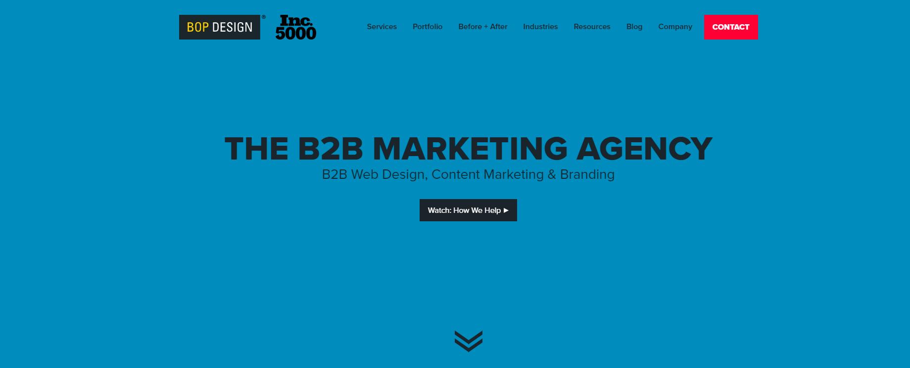 bop designs - web design and development services